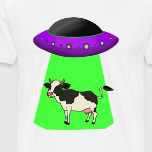 Alien Abduction - Männer Premium T-Shirt