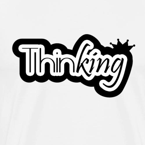 thinking t-shirt - T-shirt Premium Homme