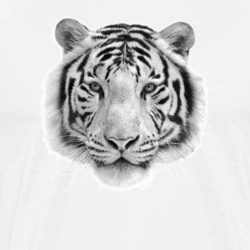 Weißer Tiger - Männer Premium T-Shirt