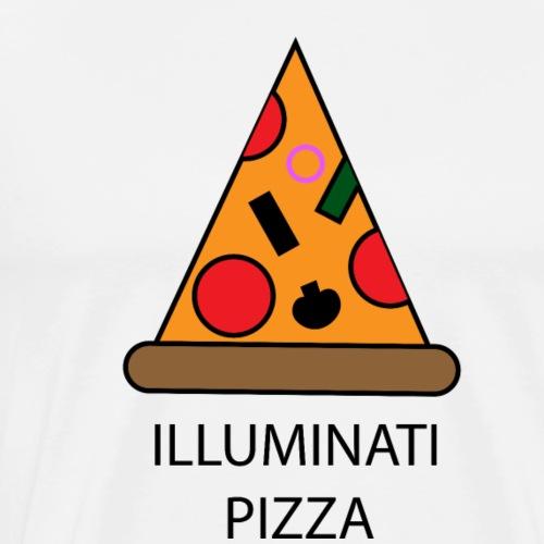 ILLUMINATI PIZZA - T-shirt Premium Homme