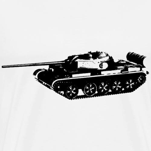 Mittlerer Kampfpanzer T-54 - Männer Premium T-Shirt
