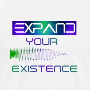 Expand Your Existence - Mannen Premium T-shirt