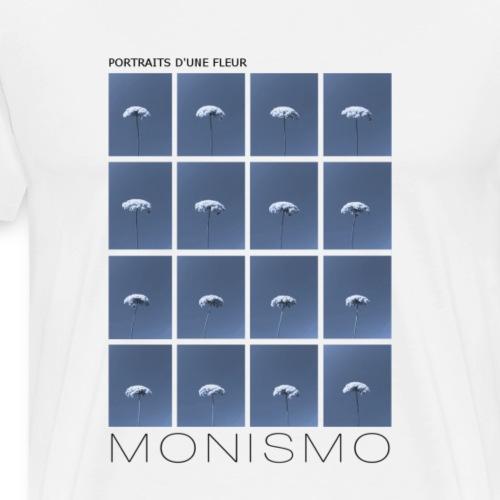 PORTRAITS D'UNE FLEUR - Men's Premium T-Shirt