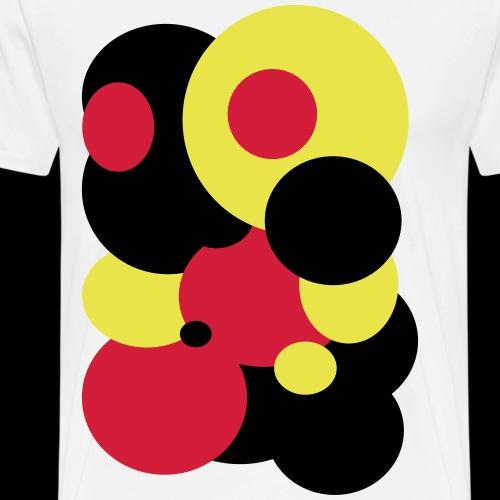 Kreise / circles / deutschland - Männer Premium T-Shirt