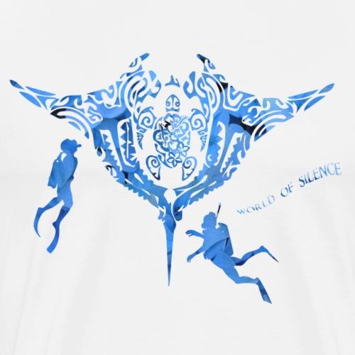 World of silence - T-shirt Premium Homme