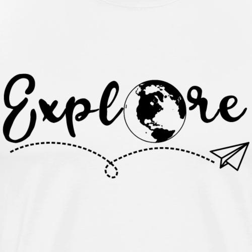 Explore - by Life to go - Männer Premium T-Shirt