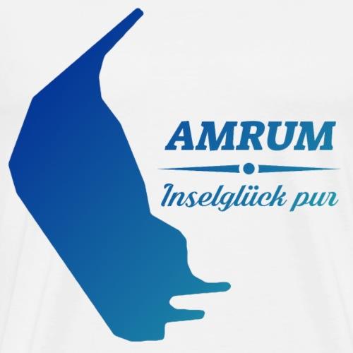 Amrum Inselglück pur Nordseeinsel Amrum Geschenk - Männer Premium T-Shirt