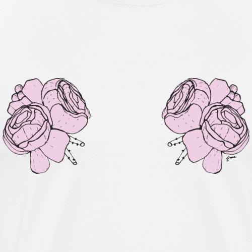 titsflowers - Men's Premium T-Shirt