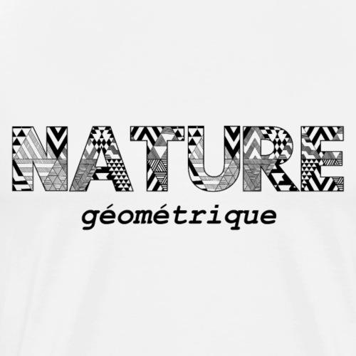 Nature Géométrique - T-shirt Premium Homme