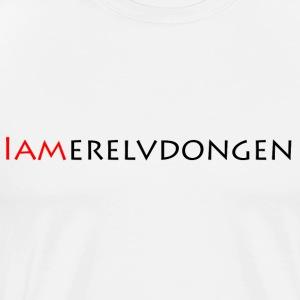 Merel van Dongen   Black - Mannen Premium T-shirt