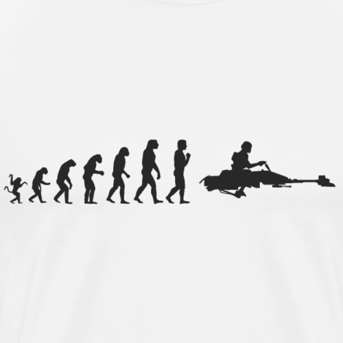 Evolution de l'homme : Stormtrooper S wars - T-shirt Premium Homme