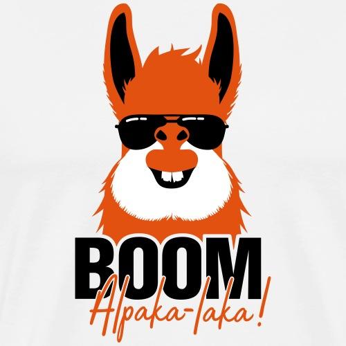 BOOM Alpaka-laka! Die Geschenkidee für Alpaka-Fans - Männer Premium T-Shirt