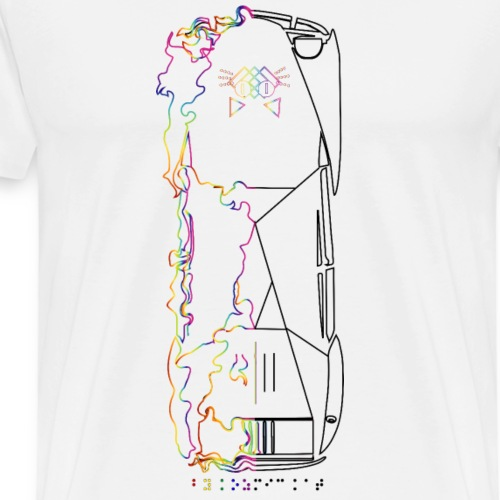T-Shirt 2CV - T-shirt Premium Homme