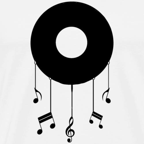 Schallplatte - Männer Premium T-Shirt
