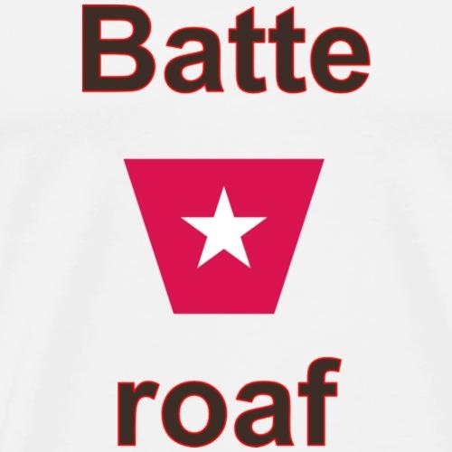 Batteraof w1 tp vert b - Mannen Premium T-shirt