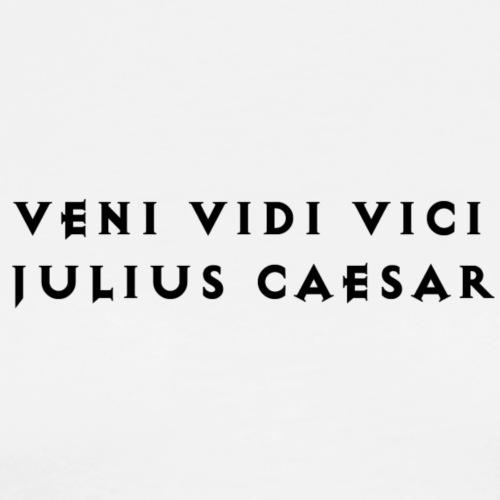 Quotees UF - Veni Vidi Vici - Premium-T-shirt herr