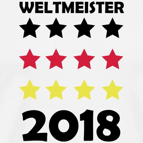 Weltmeister Fussball DE 2018 WM 2 - Männer Premium T-Shirt