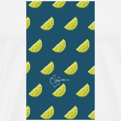 Tequi-love Pattern - Men's Premium T-Shirt