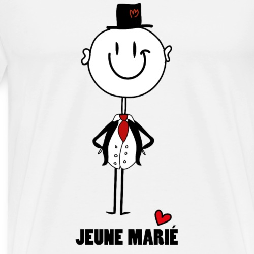jeune marié - Männer Premium T-Shirt