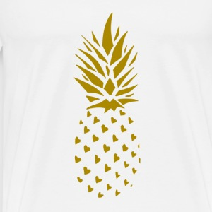 ananas Or - T-shirt Premium Homme
