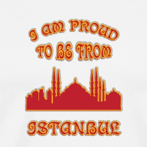 Istanbul I am proud to be from - Men's Premium T-Shirt