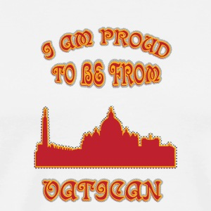VATICAN I am proud to be from - Men's Premium T-Shirt