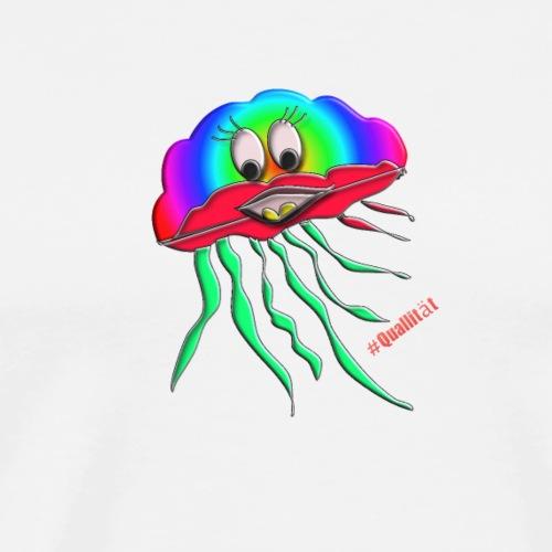 Qualli Regenbogen - Männer Premium T-Shirt
