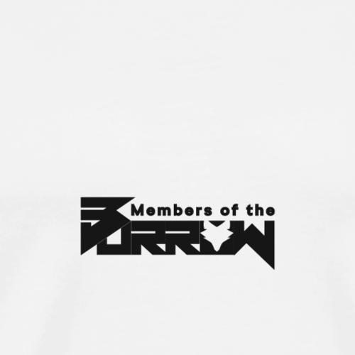 MoB schwarz - Männer Premium T-Shirt