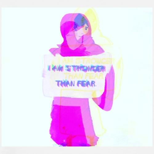 I am stronger than fear - Men's Premium T-Shirt