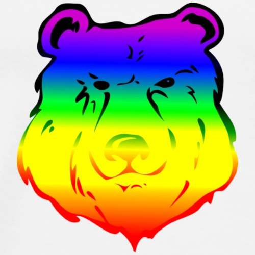 rainbow bear - Men's Premium T-Shirt