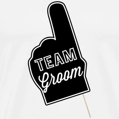 Teem Groom - Maglietta Premium da uomo