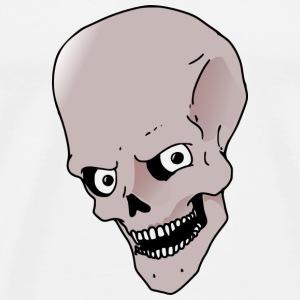 Totenkopf Witz - Männer Premium T-Shirt