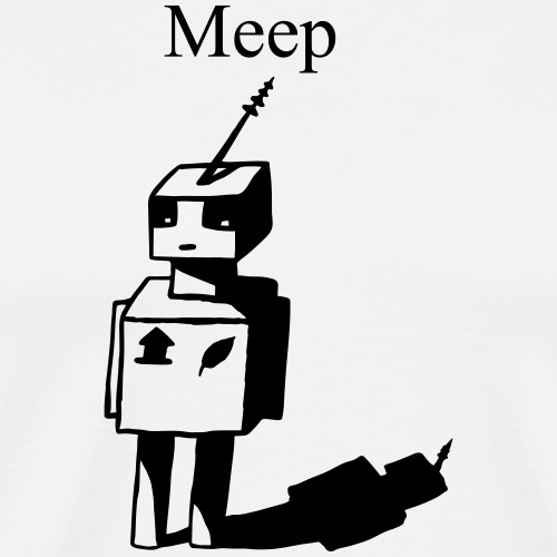 Meep - Männer Premium T-Shirt