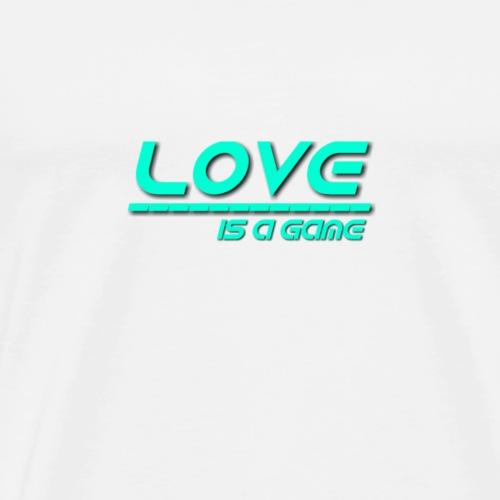 Love (grün) - Männer Premium T-Shirt