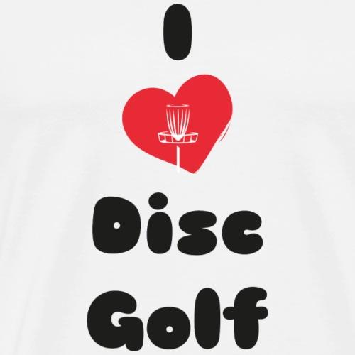 I Love Disc Golf III - Männer Premium T-Shirt