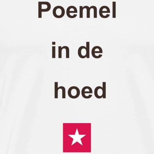 Poemelindehoed mr vert def b - Mannen Premium T-shirt