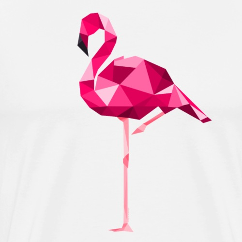 Flament rose ( collection  Sauvage ) - T-shirt Premium Homme