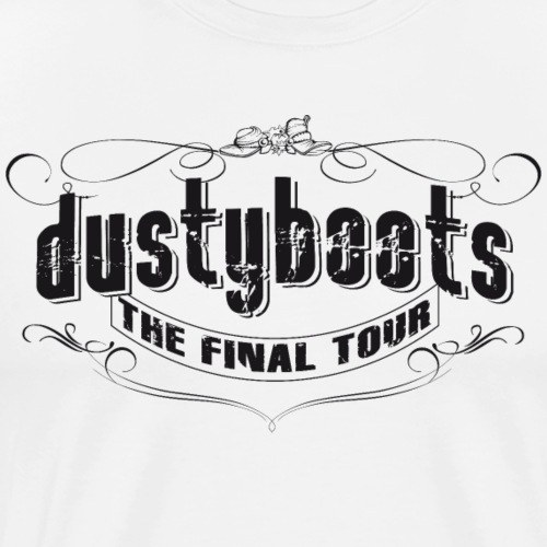 dustyboots FINAL TOUR - Männer Premium T-Shirt