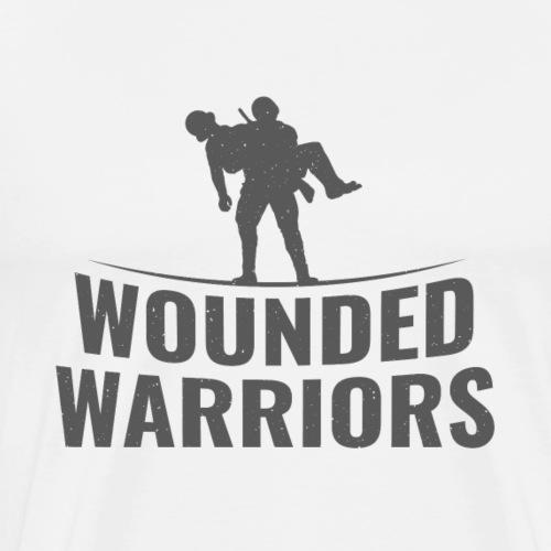 Wounded Warrior Design - Männer Premium T-Shirt