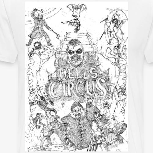 Hells Circus All Cast 2018 - Men's Premium T-Shirt