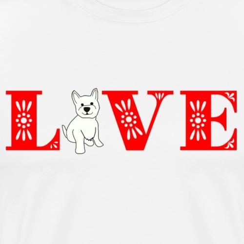 2018 LOVE - Men's Premium T-Shirt