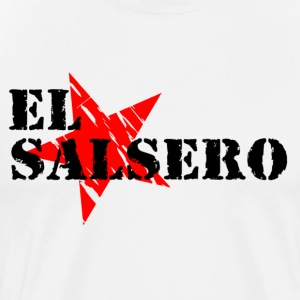 EL SALSERO Shirt - Black - Mambo New York - Men's Premium T-Shirt