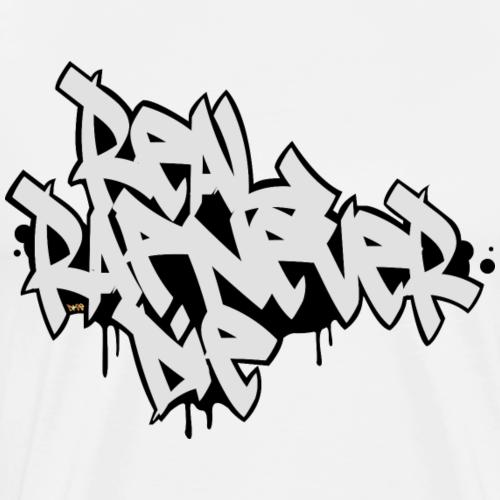 RealRapNeverDie - Camiseta premium hombre