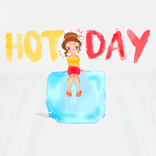 HOT DAY - T-shirt Premium Homme