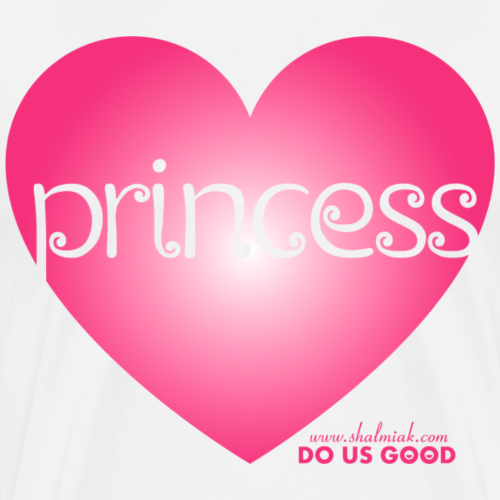 PRINCESS - Miesten premium t-paita