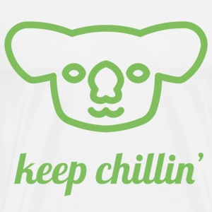 Chillin 'Koala - Men's Premium T-Shirt
