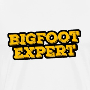 Bigfoot Expert - Men's Premium T-Shirt