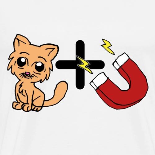 PussyMagnet Kätzchen Geschenk Idee - Männer Premium T-Shirt