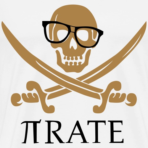 Pirate - Mannen Premium T-shirt