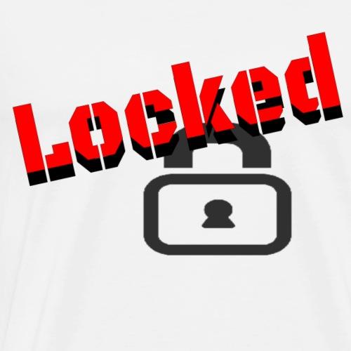 locked - Men's Premium T-Shirt